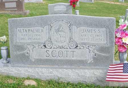SCOTT, JAMES STEWART - Benton County, Arkansas   JAMES STEWART SCOTT - Arkansas Gravestone Photos