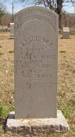 SCOTT, MARGUET B - Benton County, Arkansas | MARGUET B SCOTT - Arkansas Gravestone Photos