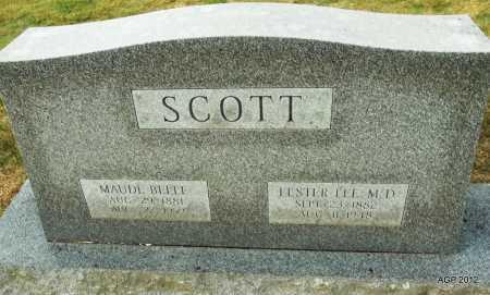 SCOTT, MAUDE BELLE - Benton County, Arkansas   MAUDE BELLE SCOTT - Arkansas Gravestone Photos