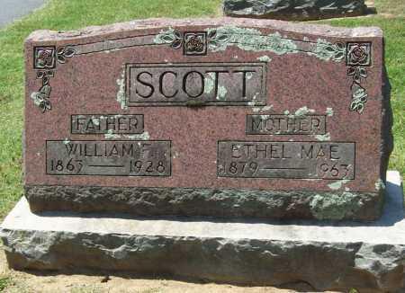 SCOTT, W. F. - Benton County, Arkansas | W. F. SCOTT - Arkansas Gravestone Photos