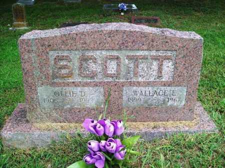 SCOTT, WALLACE E. - Benton County, Arkansas | WALLACE E. SCOTT - Arkansas Gravestone Photos