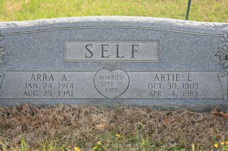 SELF, ARTIE L. - Benton County, Arkansas | ARTIE L. SELF - Arkansas Gravestone Photos