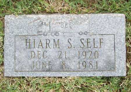 SELF, HIARM SIMPSON - Benton County, Arkansas | HIARM SIMPSON SELF - Arkansas Gravestone Photos