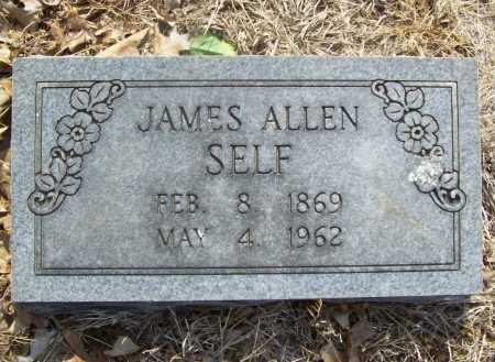 SELF, JAMES ALLEN - Benton County, Arkansas   JAMES ALLEN SELF - Arkansas Gravestone Photos