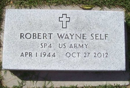 "SELF (VETERAN VIET), ROBERT WAYNE ""BOB"" - Benton County, Arkansas 