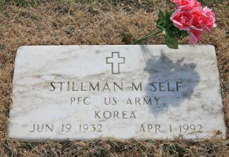 SELF (VETERAN KOR), STILLMAN M - Benton County, Arkansas | STILLMAN M SELF (VETERAN KOR) - Arkansas Gravestone Photos