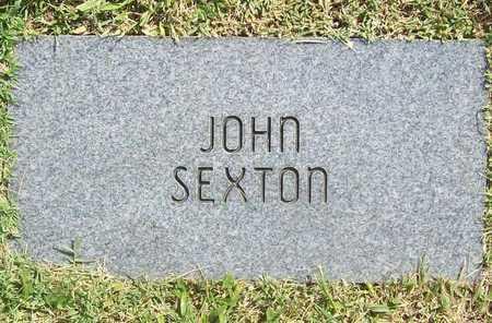 SEXTON, JOHN - Benton County, Arkansas | JOHN SEXTON - Arkansas Gravestone Photos