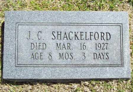 SHACKELFORD, J. C. - Benton County, Arkansas | J. C. SHACKELFORD - Arkansas Gravestone Photos