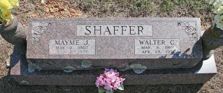 SHAFFER, WALTER C. - Benton County, Arkansas | WALTER C. SHAFFER - Arkansas Gravestone Photos