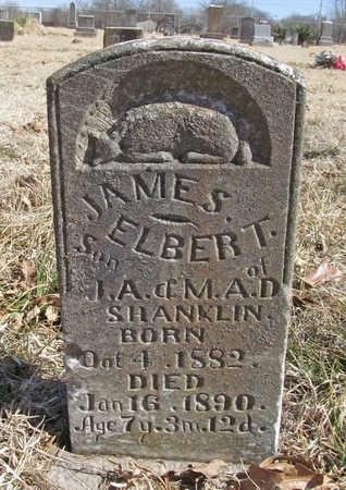 SHANKLIN, JAMES ELBERT - Benton County, Arkansas | JAMES ELBERT SHANKLIN - Arkansas Gravestone Photos
