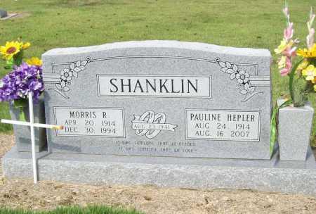 SHANKLIN, MORRIS R. - Benton County, Arkansas | MORRIS R. SHANKLIN - Arkansas Gravestone Photos