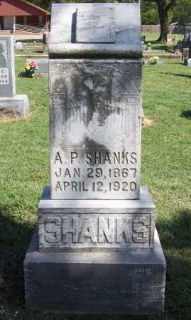 SHANKS, A. P. - Benton County, Arkansas | A. P. SHANKS - Arkansas Gravestone Photos