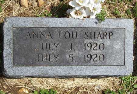 SHARP, ANNA LOU - Benton County, Arkansas | ANNA LOU SHARP - Arkansas Gravestone Photos