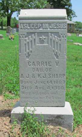 SHARP, CARRIE V - Benton County, Arkansas | CARRIE V SHARP - Arkansas Gravestone Photos