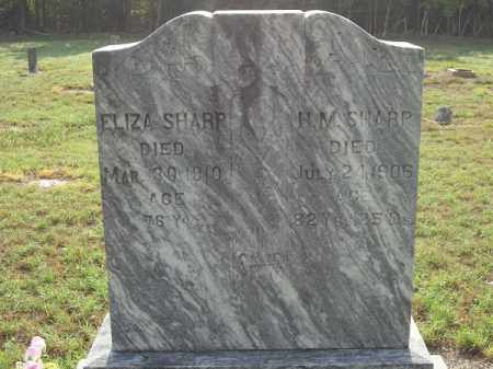 SHARP, ELIZA - Benton County, Arkansas | ELIZA SHARP - Arkansas Gravestone Photos