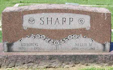 SHARP, EDSON G. - Benton County, Arkansas | EDSON G. SHARP - Arkansas Gravestone Photos