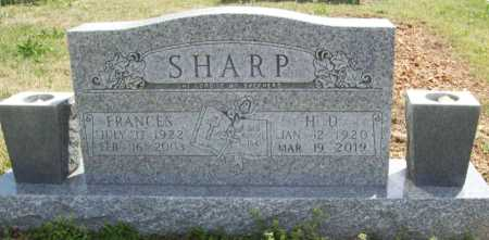 SHARP, FRANCES - Benton County, Arkansas | FRANCES SHARP - Arkansas Gravestone Photos