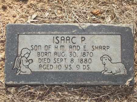 SHARP, ISAAC P. - Benton County, Arkansas | ISAAC P. SHARP - Arkansas Gravestone Photos