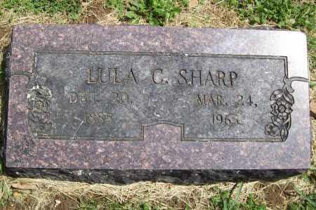 SHARP, LULA C - Benton County, Arkansas | LULA C SHARP - Arkansas Gravestone Photos