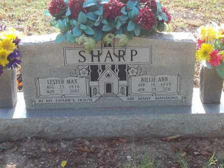 SHARP, LESTER MAX - Benton County, Arkansas   LESTER MAX SHARP - Arkansas Gravestone Photos