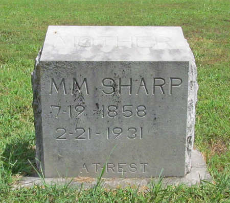 SHARP, M M - Benton County, Arkansas | M M SHARP - Arkansas Gravestone Photos