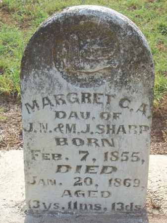 SHARP, MARGRET C. A. - Benton County, Arkansas | MARGRET C. A. SHARP - Arkansas Gravestone Photos
