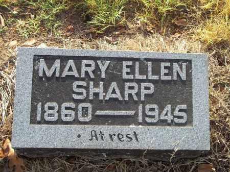 SHARP, MARY ELLEN - Benton County, Arkansas | MARY ELLEN SHARP - Arkansas Gravestone Photos