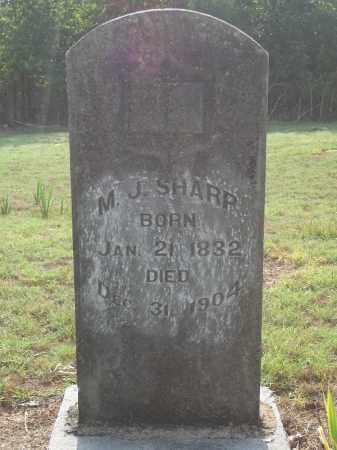 SHARP, M. J. - Benton County, Arkansas | M. J. SHARP - Arkansas Gravestone Photos