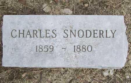 SNODERLY, CHARLES - Benton County, Arkansas | CHARLES SNODERLY - Arkansas Gravestone Photos