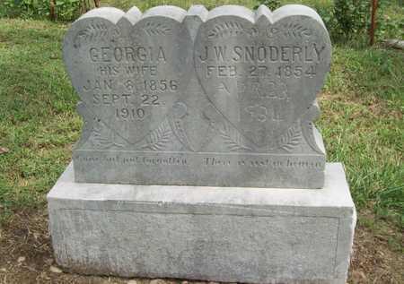 SNODERLY, GEORGIA - Benton County, Arkansas | GEORGIA SNODERLY - Arkansas Gravestone Photos