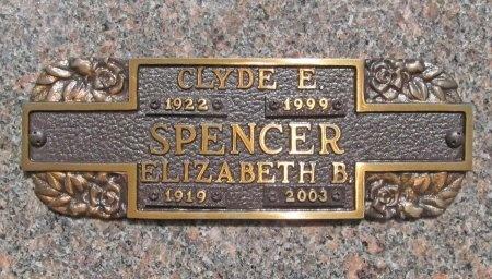 SPENCER, CLYDE E - Benton County, Arkansas | CLYDE E SPENCER - Arkansas Gravestone Photos