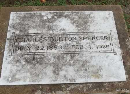 SPENCER, CHARLES BURTON - Benton County, Arkansas | CHARLES BURTON SPENCER - Arkansas Gravestone Photos
