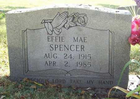 SPENCER, EFFIE MAE - Benton County, Arkansas | EFFIE MAE SPENCER - Arkansas Gravestone Photos