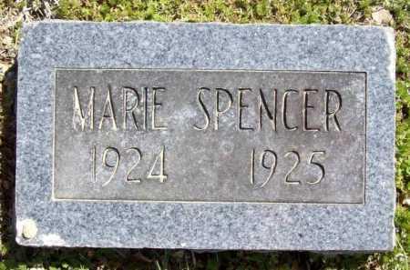 SPENCER, MARIE - Benton County, Arkansas | MARIE SPENCER - Arkansas Gravestone Photos