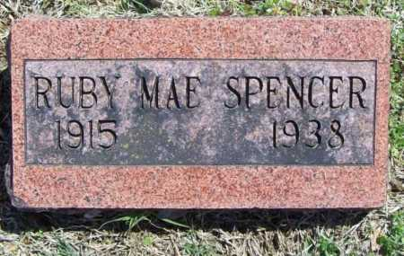 SPENCER, RUBY MAE - Benton County, Arkansas | RUBY MAE SPENCER - Arkansas Gravestone Photos