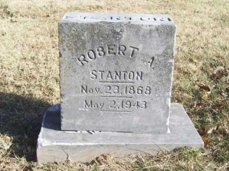 STANTON, ROBERT A. - Benton County, Arkansas   ROBERT A. STANTON - Arkansas Gravestone Photos