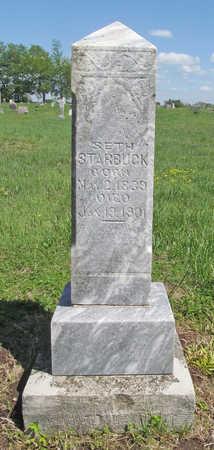 STARBUCK (VETERAN UNION), SETH - Benton County, Arkansas | SETH STARBUCK (VETERAN UNION) - Arkansas Gravestone Photos