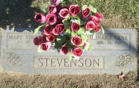 MUSTEEN STEVENSON, MARY VIRGINIA - Benton County, Arkansas | MARY VIRGINIA MUSTEEN STEVENSON - Arkansas Gravestone Photos