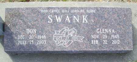 SWANK, DON - Benton County, Arkansas | DON SWANK - Arkansas Gravestone Photos
