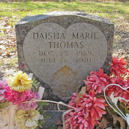 THOMAS, DAISHA MARIE - Benton County, Arkansas | DAISHA MARIE THOMAS - Arkansas Gravestone Photos
