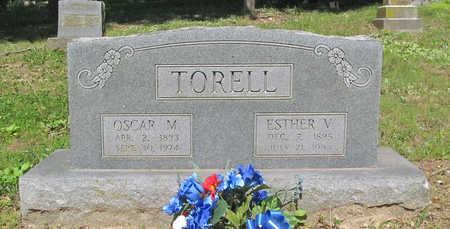 BRODAHI TORELL, ESTHER VICTORIA - Benton County, Arkansas | ESTHER VICTORIA BRODAHI TORELL - Arkansas Gravestone Photos