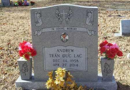 Tran Andrew Lac Duc Benton County Arkansas Andrew Lac Duc Tran Arkansas Gravestone Photos
