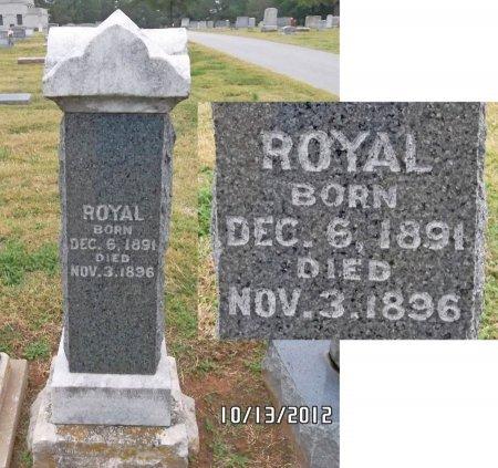 UNKNOWN, ROYAL - Benton County, Arkansas | ROYAL UNKNOWN - Arkansas Gravestone Photos