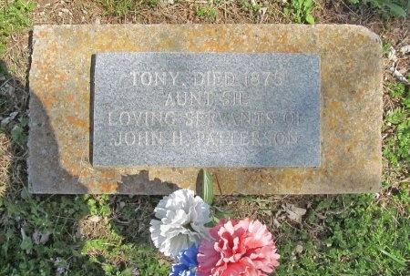 UNKNOWN, TONY - Benton County, Arkansas | TONY UNKNOWN - Arkansas Gravestone Photos