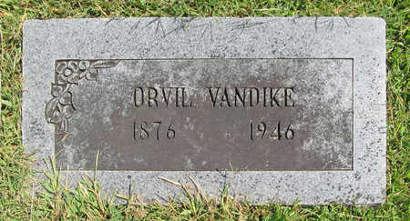 VANDIKE, ORVIL - Benton County, Arkansas | ORVIL VANDIKE - Arkansas Gravestone Photos