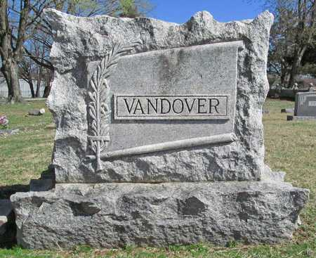 VANDOVER FAMILY STONE,  - Benton County, Arkansas |  VANDOVER FAMILY STONE - Arkansas Gravestone Photos