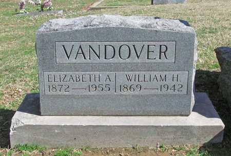 VANDOVER, WILLIAM H - Benton County, Arkansas | WILLIAM H VANDOVER - Arkansas Gravestone Photos