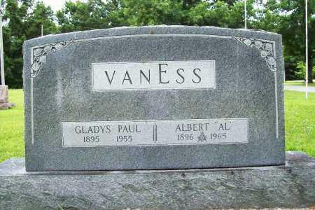 "VANESS, ALBERT ""AL"" - Benton County, Arkansas | ALBERT ""AL"" VANESS - Arkansas Gravestone Photos"