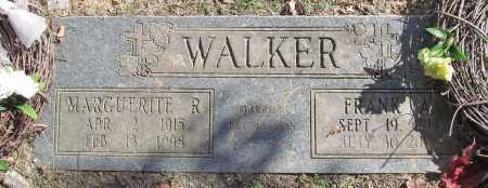 WALKER, MARGUERITE RUTH - Benton County, Arkansas   MARGUERITE RUTH WALKER - Arkansas Gravestone Photos