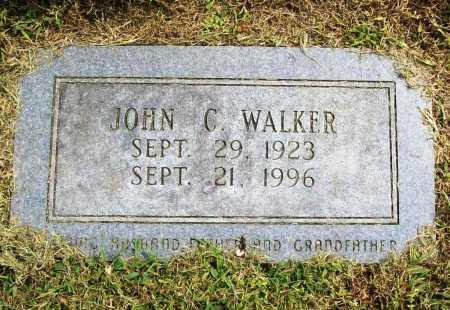 WALKER, JOHN C. - Benton County, Arkansas | JOHN C. WALKER - Arkansas Gravestone Photos
